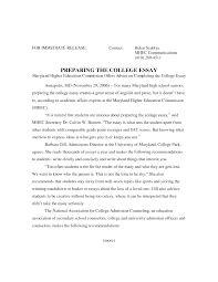 essay for university