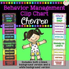 Behavior Clip Chart Chevron