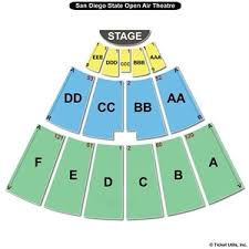 San Diego State Open Air Theatre Seating Chart Sdsu Viejas Arena Seating Chart Sdsu Addresses Decline In