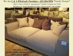 garden of eden over sized sofa available in over 400 fabrics choose feather loft