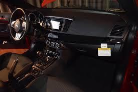 mitsubishi lancer evolution interior. international mitsubishi lancer evolution x final edition red interior wow harga