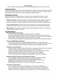Hvac Resume Objective Nardellidesign Com Examples Statement