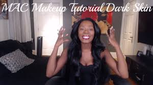 mac makeup tutorial for dark skin women how to do your make up quick mac match master