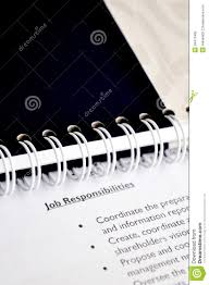 Job Responsibilities Royalty Free Stock Photo Image 34473465