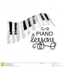Graphic Design Lessons Piano Lessons Logo Design Stock Illustration Illustration