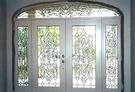 stained glass front door panel stained glass front door panels doors for victorian stained glass