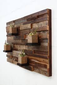 reclaimed wood wall art 37x24x5 large art by carpentercraig artistic wood pieces design