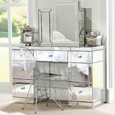m the dazzling mirrored dressing bedroom with triple folding mirrors and clear acrylic chairs 744x744 acrylic bedroom furniture