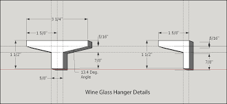 wine glass shelf router forums