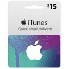 15 usa itunes gift card email delivery
