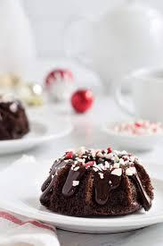 Chocolate Peppermint Mini Bundt Cakes My Baking Addiction