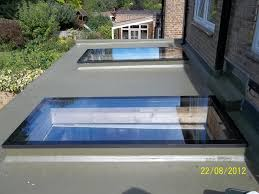Full Size of Roof:flat Roof Stunning Flat Roof Materials These Contemporary  Skylights Add Plenty ...
