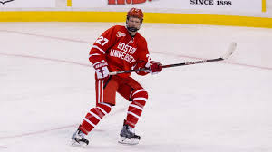 boston university freshman left wing brady tkachuk 6 foot 3 196 pounds no 2 in nhl central scouting s final ranking of north american skaters eligible