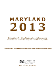 Maryland Tax Refund Cycle Chart Fiduciary The Comptroller Of Maryland Welcome To The