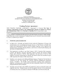 Draft – Standard Trading Partner Agreement (Stpa) - Centers For ...