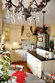Kitchen Christmas Serendipity Refined Blog Holiday Home Tour Day 1 French
