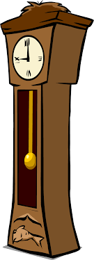 grandfather clock png. grandfather clock sprite 002.png png
