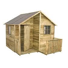 Cabane Enfant Avec Terrasse En Bois Massif Loulou Cerland Maison En Bois Loulou