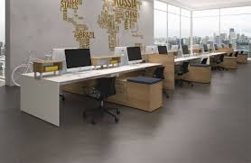 open layout office. Open Plan Office Furniture Layout