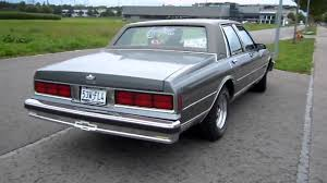 1988 Chevy Caprice Classic custom exhaust engine sound - YouTube