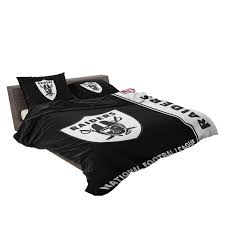 nfl oakland raiders bedding comforter set 4 3 600x600 nfl oakland raiders bedding comforter set