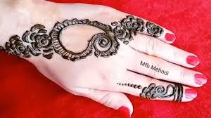 Super Simple Henna Designs Super Simple Arabic Henna Design For Hands Mehndi Designs 2018 Most Beautiful Mahandi Mfb Mehndi