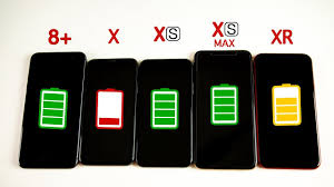 Iphone 8 And X Comparison Chart Iphone Xr Vs Iphone Xs Vs Xs Max Vs Iphone X Vs Iphone 8 Plus Battery Life Drain Test