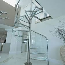 glass spiral staircases best modern crystal glass outdoor spiral staircases