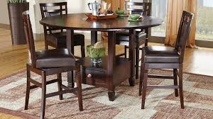 best home ideas unique counter height table sets of landon chocolate 5 pc dining set