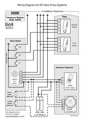 bell system 500d manuals Intercom Systems Wiring Diagram bell system 500d wiring diagram aiphone intercom systems wiring diagram
