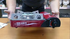 <b>Портативная газовая плита</b> TOURIST SOLARIS TS-701 - YouTube