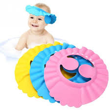 Image result for baby bathing cap