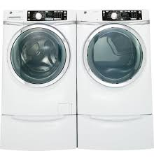Steam Technology Washer Gear 81 Cu Ft Capacity Front Load Electric Dryer With Steam