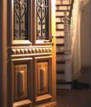 Porte d'entrée bois sur mesure en ligne