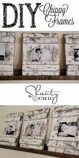 rustic home decor diy picture frames at diyjoy com