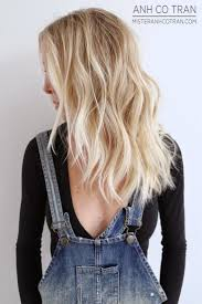 Hair Length And Color Bright Blonde