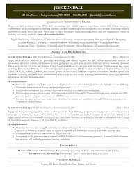 Resume For Accounting Assistant Boostlogicpc Com