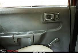 thrills my pre owned 03 maruti zen vxi rear door
