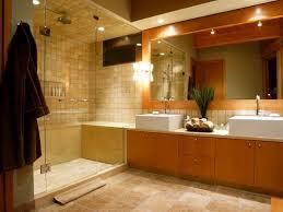bathroom lighting design modern. great wooden element and modern bathroom lighting with bright ammbience on large ceiling design