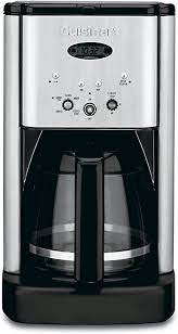 Enjoy the gourmet taste from our single serve brewers, large cup coffee makers or cold brew coffee makers. Amazon Com Cuisinart Dcc 1200 Brew Central 12 Cup Programmable Coffeemaker Black Silver Drip Coffeemakers Kitchen Dining