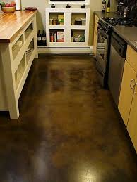 Image Polished Concrete Stainedcementfloors Stained Concrete Pinterest How Will Concrete Flooring Surface Treatments Look Kitchen Ideas