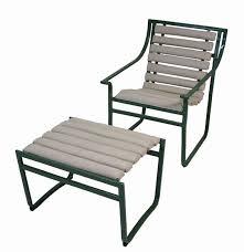 patio chairs with ottoman. 1970s Samsonite Tubular Steel Patio Chair \u0026 Ottoman Chairs With