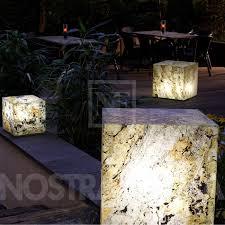 Light Cube Floor Lamp Epstein Design Schiefer Cube Floor Lamp