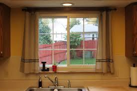 Kitchen Sink Window Above Kitchen Sink Window Treatments Best Kitchen Ideas 2017