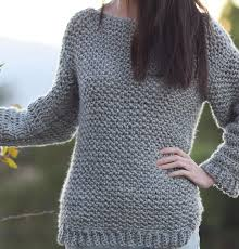 Easy Sweater Knitting Pattern Free