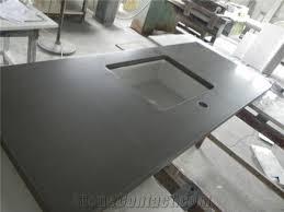 dark grey quartz countertops kitchen work tops