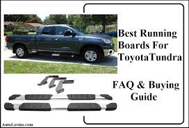 top 5 best running boards for toyota