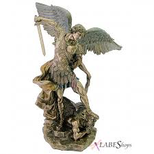 Small Picture Archangel St Michael Large Bronze Resin Statue