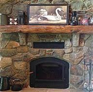 rustic fireplace mantels reclaimed log like mantel great rustic c20 mantels