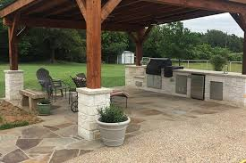 shed roof cover and outdoor kitchen